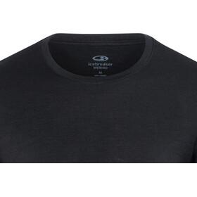 Icebreaker Tech Lite Camiseta manga larga cuello redondo Hombre, black